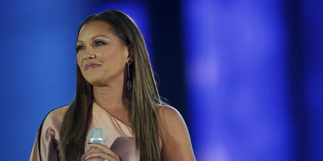 Miss America 1984 Vanessa Williams performs during the Miss America Pageant at Boardwalk Hall, in Atlantic City, N.J., Sept. 13, 2015.