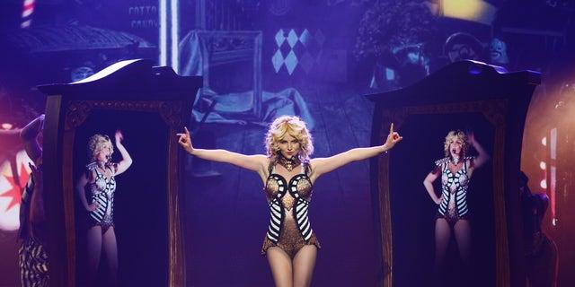 "December 26, 2013. Britney Spears rehearses ""Britney: Piece of Me"" at Planet Hollywood Resort & Casino in Las Vegas. Spears began her two-year Las Vegas casino residency Friday, Dec 27."