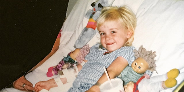 Wimberly began experiencing complications with her right leg at age six.