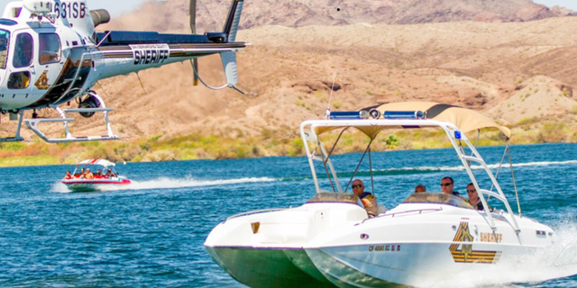 A boat collision near Moabi Regional Park on Saturday evening resulted in 13 injuries and two missing people, authorities said.