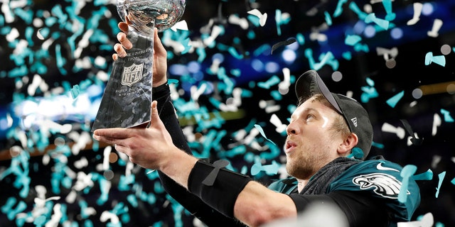Nick Foles helped the Eagles to a Super Bowl victory.