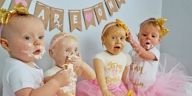 """""""What other kids get to say that their mum made them life-size cakes of themselves for their first birthday?"""""""