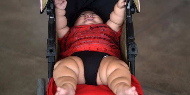 Luis Gonzales weighs as much as a 9-year-old child at just 10 months old. His parents fear they will not be able to afford proper treatment to help him.