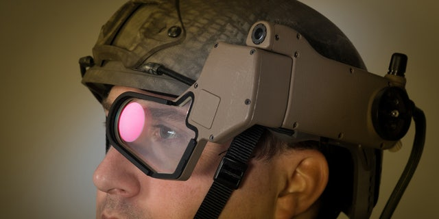 Q-Warrior Helmet Mounted Display (BAE Systems)