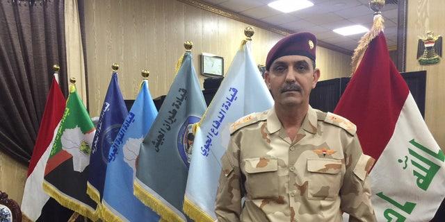 Brig. Gen. Yahya Rasool of Iraq.