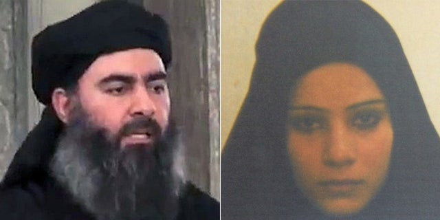 Baghdadi, (l.), is married to the older sister of Kurdish prisoner Duaa Amid Ibrahim, an Al Qaeda widow and failed suicide bomber.
