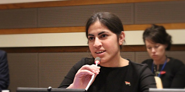 Ekhlas Khudur Bajoo, a now 17-year-old Yazidi survivor from Iraq, recently recounted her kidnapping and torture by ISIS after they raided her village in August 2014.