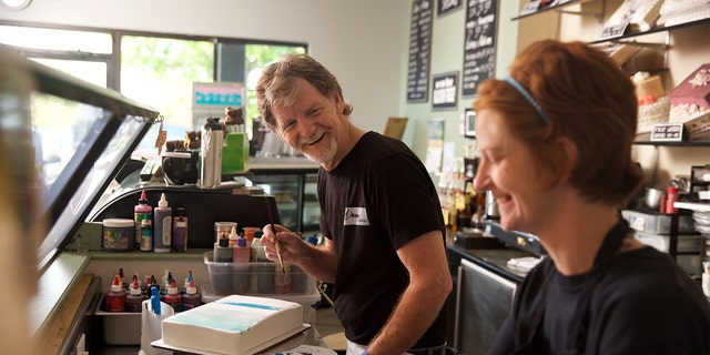 Baker Jack Phillips had refused to bake a wedding cake for a gay couple.