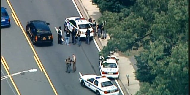 The manhunt intensifies for the suspects who killed a female Baltimore police officer Monday afternoon.