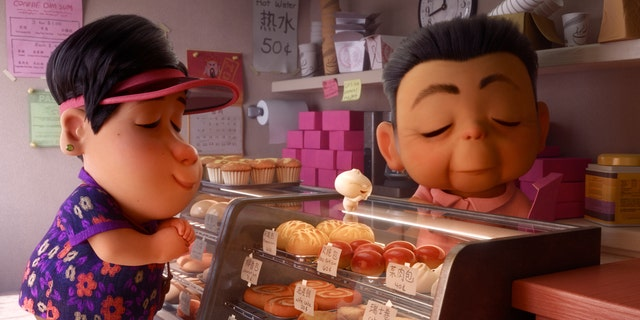 "Director Domee Shi explores parenthood, empty-nest syndrome and lots of food in the Pixar animated short film, ""Bao."""