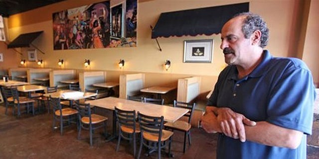 Columbus, Ohio, restaurant owner Hany Baransi describes the machete attack in his Columbus establishment.