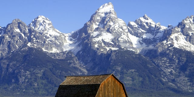 Grand Teton National Park, where Bullinger's car was found by police.