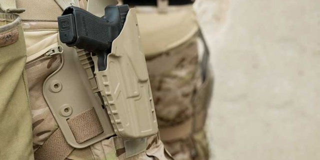 File photo - US soldiers are set to receive a new holster (The Safariland Group)