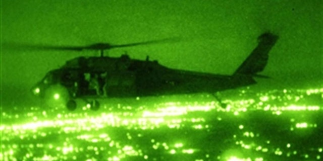 File photo - Black Hawk night operation in Iraq (U.S. Army)