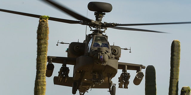 File photo - Apache attack helicopter (Boeing)