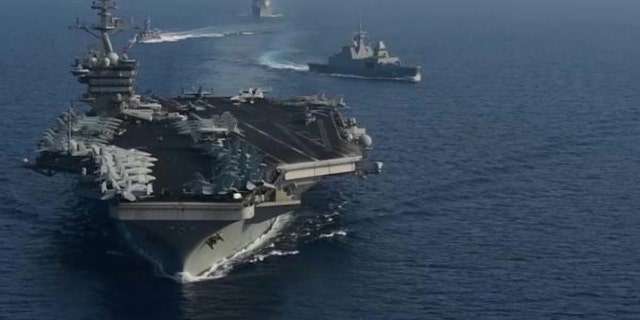 Carrier strike group - USS Theodore Roosevelt