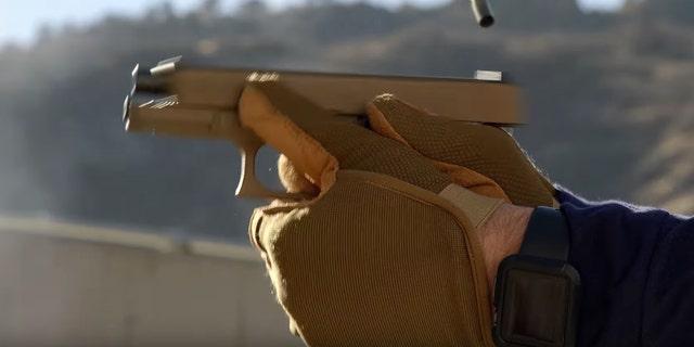 Glock G19X in action (Glock)