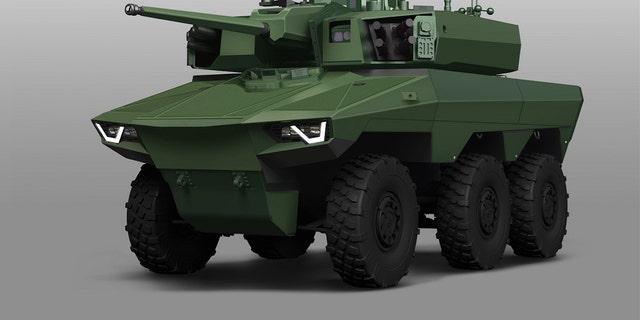 Jaguar EBRC (Nexter, Renault Trucks Defense, Thales)