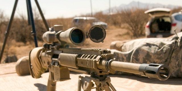 File photo - M110 (U.S. Army Sniper School)