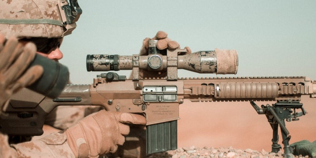 File photo - M110 (Marine Corps)