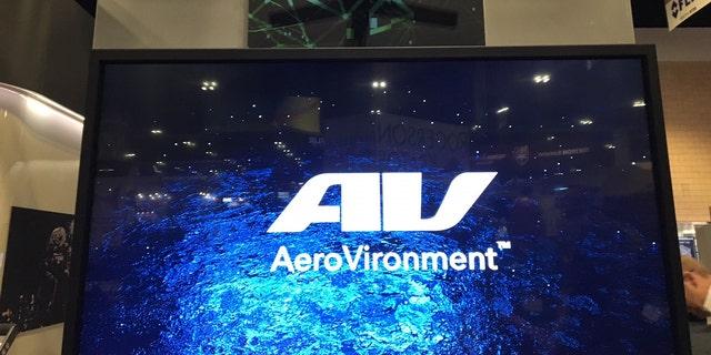 AeroVironment display at SOFIC (Allison Barrie)