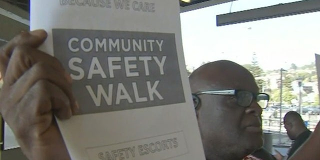 A group of volunteers is offering to walk riders to their cars at BART stations after a recent spike in crime.