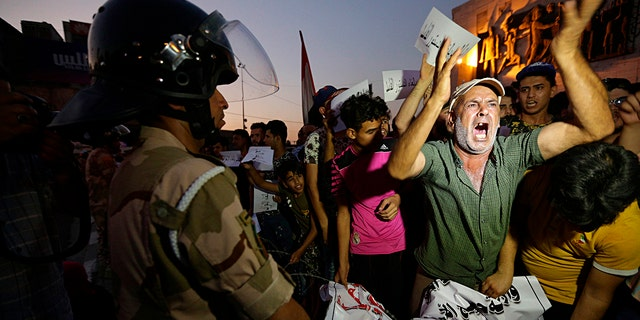 Ongoing unrest in Iraq over creeping Iranian influence.