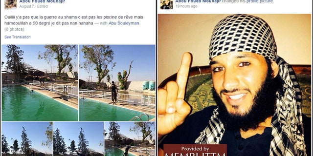 Aggad shared many photos documenting his jihad with ISIS. The photos were often accompanied by specific Koranic verses. (MEMRI)