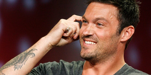 "Actor Brian Austin Green, star of the drama series ""Terminator the Sarah Connor Chronicles"", takes part in a panel discussion at the Fox TV network summer press tour in Beverly Hills, California  July 14, 2008. REUTERS/Fred Prouser  (UNITED STATES) - RTX7XHY"