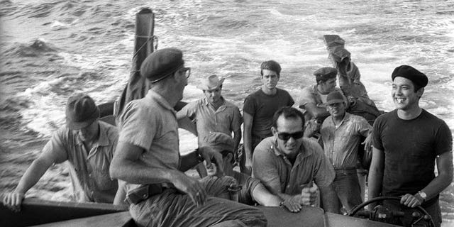 Anti-Castro activists prepare in Nicaragua to participate in the 1961 CIA-sponsored Bay of Pigs invasion. Newly released declassified U.S. government documents offer new details about the failed operation.