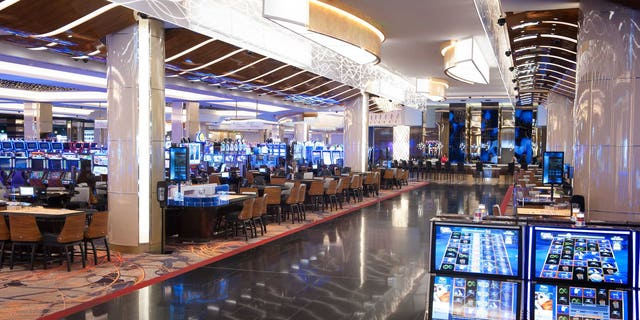 The gaming floor of the new casino.