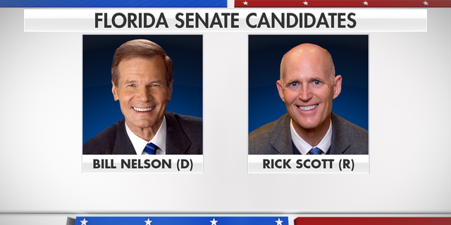 Democrats have little room for error as they try to take back control of the U.S. Senate, and the winner of Florida's closely watched race between incumbent Bill Nelson and Rick Scott could tip the balance on Capitol Hill.