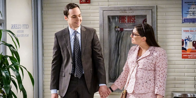 Sheldon and Amy, one of a kind.