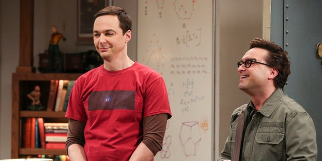 """""""The Athenaeum Allocation""""- Pictured: Sheldon Cooper (Jim Parsons) and Leonard Hofstadter (Johnny Galecki). Leonard jumps through hoops to help secure the perfect wedding venue for Sheldon and Amy."""