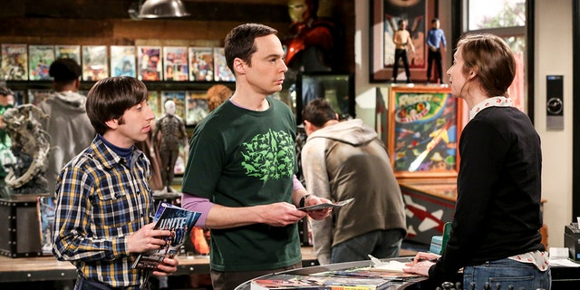 The gang on 'The Big Bang Theory' sees a new employee at their beloved comic book store.