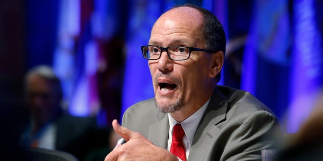 July 25, 2015: Labor Secretary Thomas Perez speaks in West Virginia.