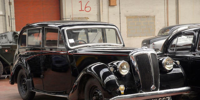 A Daimler Consort in good condition can be worth anywhere between $5,000 and $50,000.