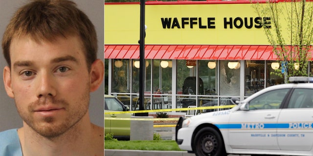 Shooting suspect Travis Reinking was captured Monday in Nashville, Tenn. Police say Reinking shot and killed at least four people at a Waffle House restaurant in Nashville Sunday.