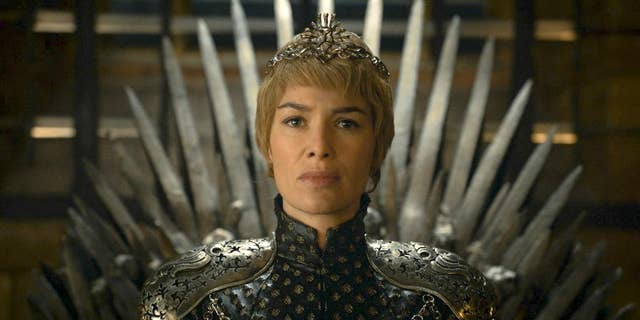 """In this image released by HBO, Lena Headey appears in a scene from """"Game of Thrones."""""""