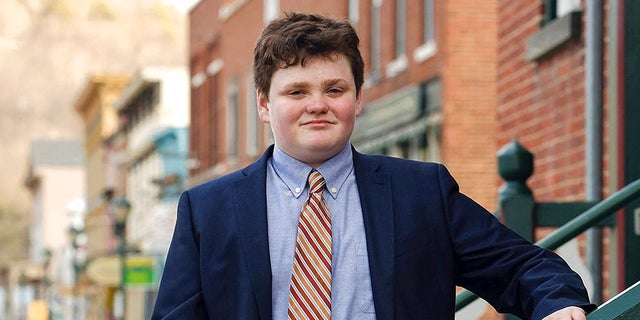 This undated photo provided by the Ethan 2018 Campaign shows Ethan Sonneborn, of Bristol, Vt., who is one of the four Vermont Democrats seeking the party nomination to run for governor