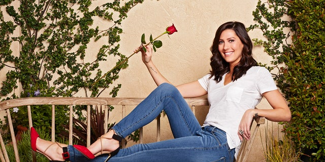 "Becca Kufrin is currently ""The Bachelorette."""