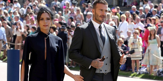 """Beckhman attended the royal wedding with her husband, David, and called the ceremony """"incredible."""""""