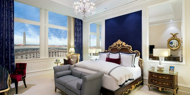 The Presidential Suite starts at $9,000 a night.