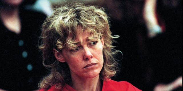 """FILE - In this Feb. 6, 1998, file photo, Mary Kay Letourneau listens to testimony during a court hearing in Seattle. Vili Fualaau, who married Letourneau after she was jailed for raping him, says their relationship hasn't always been good, but they've persevered. Fualaau and Letourneau discussed their lives together with Barbara Walters in an interview that will air on ABC News' """"20/20"""" Friday, April 10, 2015. Letourneau is a former suburban Seattle teacher who became tabloid fodder in the 1990s when she was convicted of raping the then 12-year-old Fualaau. She served a prison sentence and then married him. (AP Photo/Alan Berner, Pool, File)"""