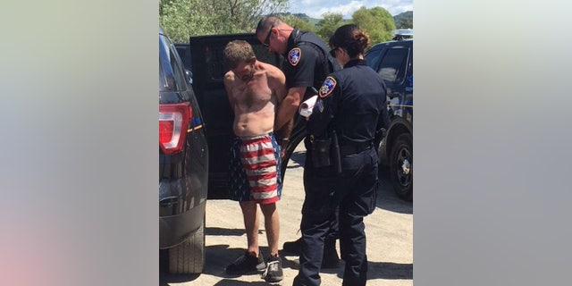 Hermsmeyer was captured by police within an hour of taking the truck, police say.
