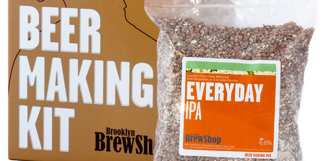 Have your friend turn their kitchen into a brewery with these grain-based beer kits.