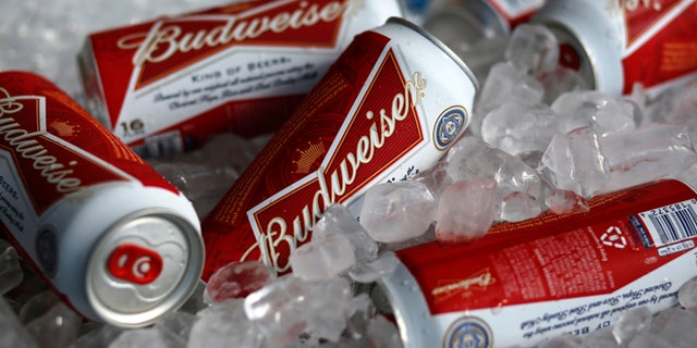 """Budweiser will pledge enough renewable energy certificates to cover the estimated electricity used to brew beer in the U.S. in one day to """"go green"""" for St. Patrick's Day."""