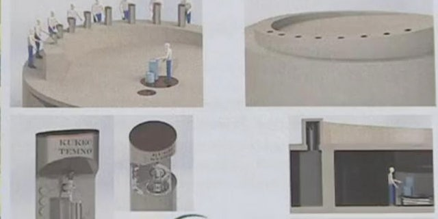 The beer fountain will cost about $400,000 to construct and will dispense local beers visitors can buy in a commemorative mug.