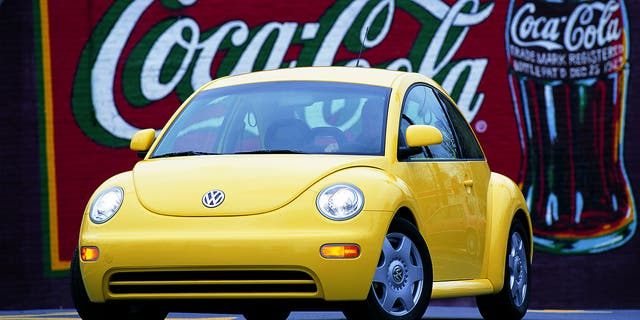 The New Beetle resurrected the legendary nameplate in 1997.