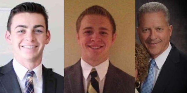 From left to right: Joseph Empey, Mason Wells, Richard Norby.